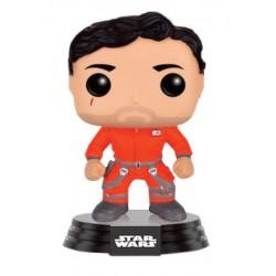 Star Wars Episode VII Funko POP! Vinyl Wackelkopf-Figur Poe Dameron (Jumpsiut) (Limitiert) (10 cm)