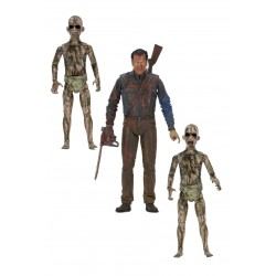 Ash vs. Evil Dead Actionfiguren Dreierpack Bloody Ash vs Demon Spawn (14-18 cm)
