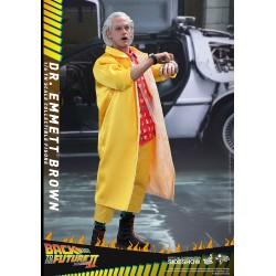 Zurück in die Zukunft II Hot Toys Movie Masterpiece 1/6 Actionfigur Dr. Emmett Brown (30 cm)