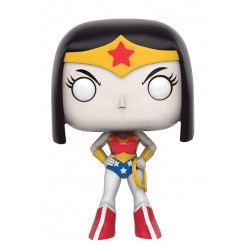 DC Teen Titans Go! POP! Television Vinyl Figur Raven as Wonder Woman (10 cm)
