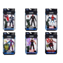 "Marvel Legends Series 03 'Captain America - Civil War' Set mit 6 Figuren 6"" (15 cm)"