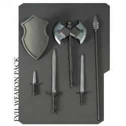 Mythic Legions Zubehör Waffenset gross (Evil)