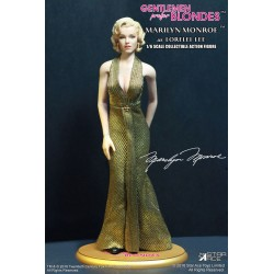 Blondinen bevorzugt My Favourite Legend Actionfigur 1/6 Marilyn Monroe (Gold Dress Ver.) (29 cm)