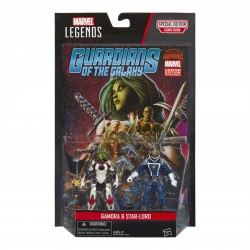 "Marvel Legends Comic Doppelpack Gamora & Star-Lord  3.75"" (10 cm)"