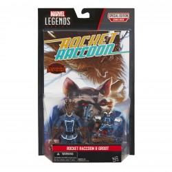 "Marvel Legends Comic Doppelpack Rocket Raccoon & Groot  3.75"" (10 cm)"