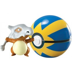 Pokemon Clip´n´Carry Poké Ball Tragosso & Quick Ball