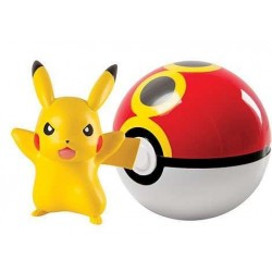 Pokemon Clip´n´Carry Poké Ball Pikachu & Repeat Ball