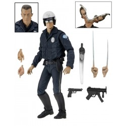 Terminator 2 Actionfigur Ultimate T-1000 (Motorcycle Cop) (18 cm)
