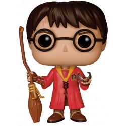 Harry Potter Funko POP! Vinyl Figur Harry Potter (Quidditch) (10 cm)