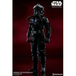 Star Wars Rogue One Sideshow Collectibles 1/6 Actionfigur TIE Pilot (Sideshow Exclusive) (30 cm)
