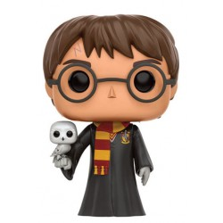 Harry Potter Funko POP! Vinyl Figur Harry with Hedwig (10 cm)