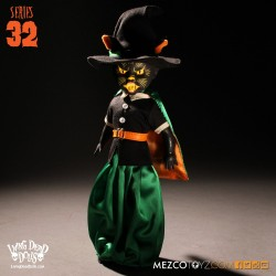 Living Dead Dolls Series 32 Black Cat Witch (25 cm)