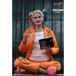 Hot Toys Suicide Squad Movie Masterpiece Actionfigur 1/6 Harley Quinn (Prisoner Version) (28 cm)