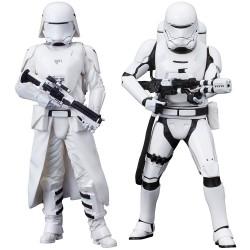 Star Wars Episode VII ARTFX+ Statuen-Doppelpack First Order Snowtrooper & Flametrooper (18 cm)