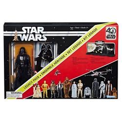 "Star Wars Black Series 40th Anniversary Darth Vader Legacy Pack 6"" (15 cm)"