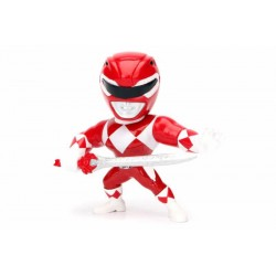 Power Rangers Metals Diecast Minifigur Red Ranger (10 cm)