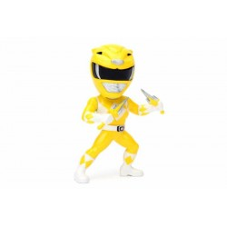 Power Rangers Metals Diecast Minifigur Yellow Ranger (10 cm)