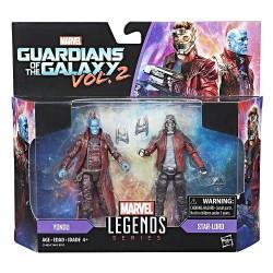 "Marvel Legends Doppelpack Star-Lord & Yondu 3.75"" (10 cm)"