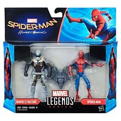 """Marvel Legends Doppelpack Spider-Man & Marvel's Vulture (Spider-Man Homecoming) 3.75"""" (10 cm)"""
