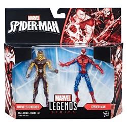 "Marvel Legends Doppelpack Spider-Man & Marvel's Shocker (Classic Comic Versions) 3.75"" (10 cm)"
