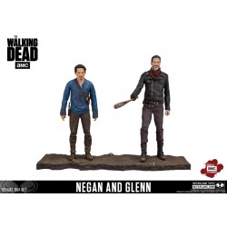 The Walking Dead TV Version Actionfiguren Doppelpack Negan & Glenn (13 cm)