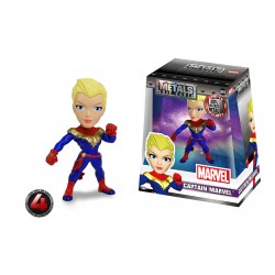 Marvel Girls Metals Diecast Minifigur Captain Marvel (10 cm)