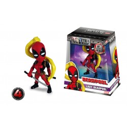 Marvel Girls Metals Diecast Minifigur Lady Deadpool (10 cm)