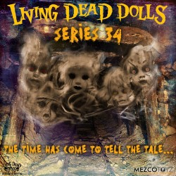 Living Dead Dolls Series 34 The Time Has Come To Tell The Tale komplett mit 5 Puppen (25 cm)