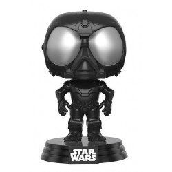 Star Wars Rogue One Funko POP! Vinyl Wackelkopf-Figur Death Star Droid (Black) (10 cm)