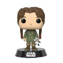 Star Wars Rogue One Funko POP! Vinyl Wackelkopf-Figur Young Jyn Erso (10 cm)