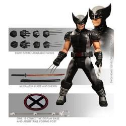 Marvel Universe Actionfigur One:12 X-Force Wolverine (Previews Exclusive) (16 cm)