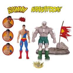 DC Comics Icons Actionfiguren Doppelpack The Death of Superman (16 cm)