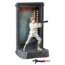 Star Wars Black Series 40th Anniversary Titanium Diecast Figur 2017 Wave 1 Luke Skywalker (10 cm)