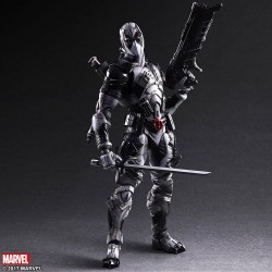 Play Arts Kai Marvel Comics Variant Actionfigur Deadpool (X-Force Version) (27 cm)