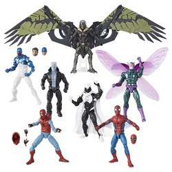 "Marvel Legends Series 01 'Spider-Man Homecoming' Set mit 7 Figuren 6"" (15 cm)"