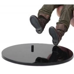 Neca Standfüße für Neca Actionfiguren (Schwarz) (15 - 18 cm)