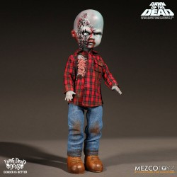 Living Dead Dolls Dawn of the Dead Puppe Plaid Shirt Zombie (25 cm)