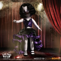 Living Dead Dolls Series 33 'Moulin Morgue' Ella Von Terra (25 cm)