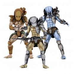 Alien vs Predator Actionfiguren Set 'Arcade Appearance' komplett mit 3 Figuren (20 cm)
