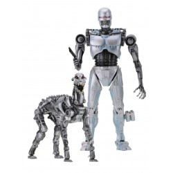 Neca RoboCop vs The Terminator Actionfiguren Doppelpack EndoCop & Terminator Dog (18 cm)