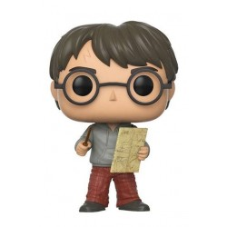 Harry Potter Funko POP! Vinyl Figur Harry Potter with Marauders Map (10 cm)