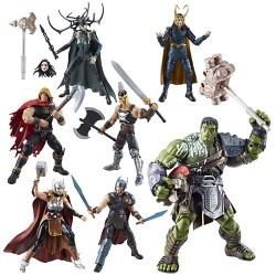 "Marvel Legends Series 01 'Thor Ragnarok' Set mit 6 Figuren 6"" (15 cm)"