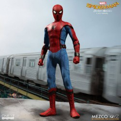 Marvel Spider-Man Homecoming Actionfigur One:12 Spider-Man (16 cm)
