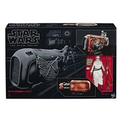 Star Wars Black Series 6-inch Fahrzeug 2017 Rey's Speeder (Jakku)