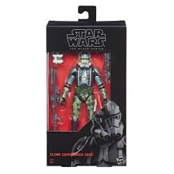 Star Wars Episode III Black Series Actionfigur Clone Commander Gree (Exclusive) (15 cm)