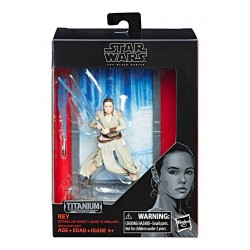 Star Wars Black Series Titanium Diecast Figur 2017 Wave 2 Rey (Starkiller Base) (10 cm)