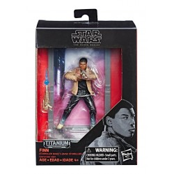 Star Wars Black Series Titanium Diecast Figur 2017 Wave 2 Finn (Starkiller Base) (10 cm)