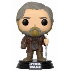 Star Wars Episode VIII POP! Vinyl Wackelkopf-Figur Luke Skywalker (10 cm)