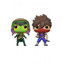 Marvel vs. Capcom Infinite POP! Games Vinyl Figuren Doppelpack Gamora Vs. Strider (10 cm)