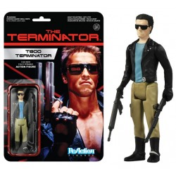 Terminator ReAction Actionfigur Terminator T-800 (10 cm)